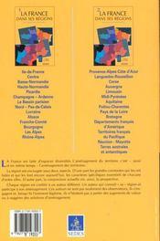 La France Dans Ses Regions T.1 ; 3e Edition - 4ème de couverture - Format classique