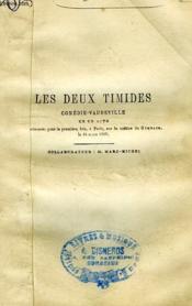 Les Deux Timides, Comedie-Vaudeville En Un Acte - Couverture - Format classique