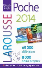 LAROUSSE DE POCHE (édition 2014) - Couverture - Format classique