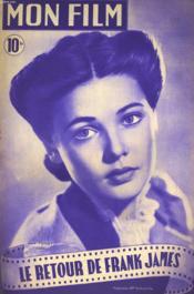 Mon Film N° 93 - Le Retour De Frank James - Couverture - Format classique