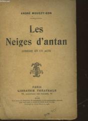 Les Neiges D'Antan - Couverture - Format classique