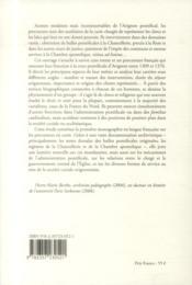 Les procureurs français à la cour pontificale d'Avignon, 1309-1376 - 4ème de couverture - Format classique