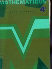 Mathématique. 4 - Couverture - Format classique