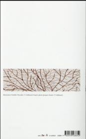 L'arbre à poèmes ; anthologie personnelle 1992-2012 - 4ème de couverture - Format classique