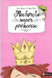 Recherche super princesse - Couverture - Format classique