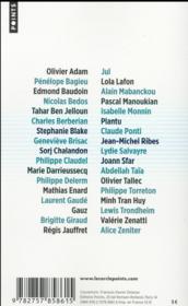 Bienvenue ! 34 auteurs pour les réfugiés - 4ème de couverture - Format classique