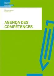 Agenda des compétences ; outils et techniques d'apprentissage - Couverture - Format classique