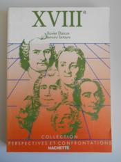 Le Xviii Siecle - Couverture - Format classique