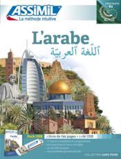 L'arabe ; débutants et faux-débutants B2 - Couverture - Format classique