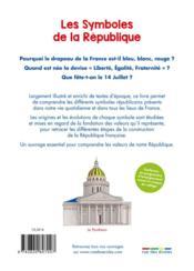 Les symboles de la République - 4ème de couverture - Format classique