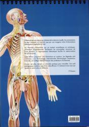 Planches d'anatomie humaine. 31 planches. reliure a spirale, 3e ed. - 4ème de couverture - Format classique