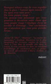 Les Visages Du Cauchemar - 4ème de couverture - Format classique
