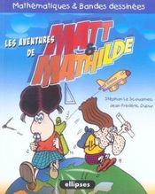 Les Aventures De Matt & Mathilde Mathematiques & Bandes Dessinees - Intérieur - Format classique