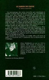 Le Jardin Du Faune Et Autres Nouvelles - 4ème de couverture - Format classique