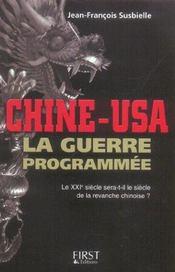 Chine usa la guerre programmee - Intérieur - Format classique