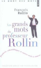 Les grands mots du professeur Rollin - Couverture - Format classique