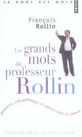 Les grands mots du professeur Rollin - Intérieur - Format classique