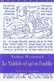 Le yiddish tel qu'on l'oublie - Intérieur - Format classique