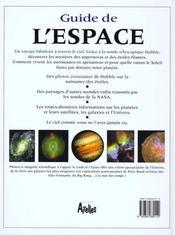 Guide De L'Espace - 4ème de couverture - Format classique