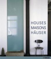 Houses maisons häuser - Couverture - Format classique