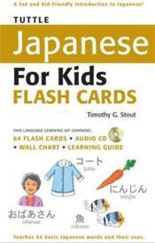 Tuttle japanese for kids flash cards kit - Couverture - Format classique