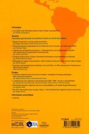 CAHIERS DES AMERIQUES LATINES N.65 ; tourisme patrimonial et sociétés locales - 4ème de couverture - Format classique
