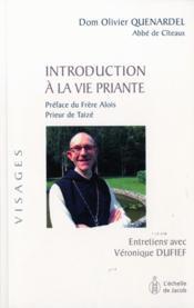 Introduction à la vie priante - Couverture - Format classique