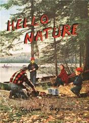William wegman hello nature /anglais - Couverture - Format classique