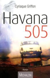 Havana 505 - Couverture - Format classique