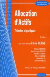Allocation d'actifs ; théories et pratiques ; 2e édition - Couverture - Format classique