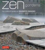 Zen Gardens /Anglais - Couverture - Format classique