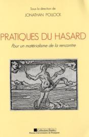 Pratiques Du Hasard - Couverture - Format classique