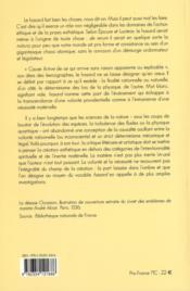 Pratiques Du Hasard - 4ème de couverture - Format classique