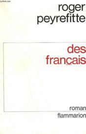 Des Francais. - Couverture - Format classique