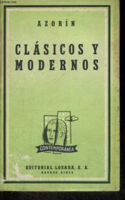 Clasicos Y Modernos - Couverture - Format classique