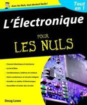 L'électronique tout en 1 pour les nuls - Couverture - Format classique