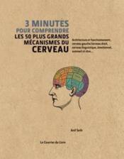 3 minutes pour comprendre les 50 plus grands mécanismes du cerveau - Couverture - Format classique