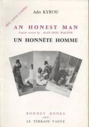 Un honnête homme - An honest man [bilingue]. - Couverture - Format classique