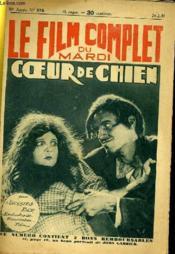 Le Film Complet Du Mardi N° 978 - 10e Annee - Coeur De Chien - Couverture - Format classique