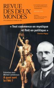 REVUE DES DEUX MONDES ; politique et mystique - Couverture - Format classique