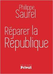 Réparer la République - Couverture - Format classique