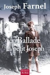 La ballade du petit Joseph - Couverture - Format classique