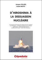 D'Hiroshima à la dissuasion nucléaire - Couverture - Format classique