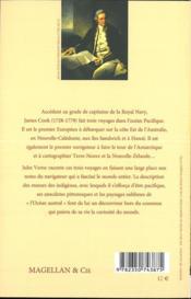 Les trois voyages du capitaine cook - verne jules - 4ème de couverture - Format classique