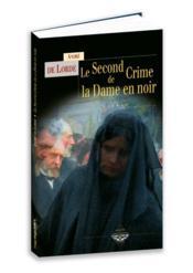 Le second crime de la Dame en Noir - Couverture - Format classique