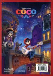 Coco ; agenda - 4ème de couverture - Format classique