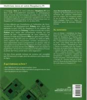 Programmer en java pour le raspberry pi 3 - 4ème de couverture - Format classique