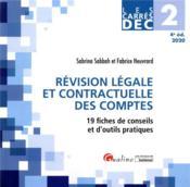 DEC 2 ; révision légale et contractuelle des comptes (édition 2020) - Couverture - Format classique