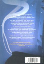 Starfell T.1 ; Violette Dupin et le jour perdu - 4ème de couverture - Format classique