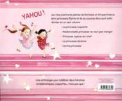 Histoires de princesses - 4ème de couverture - Format classique